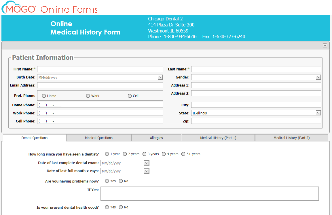 Online Registration on play hospital forms, patient filling out paper, practice filling out forms,